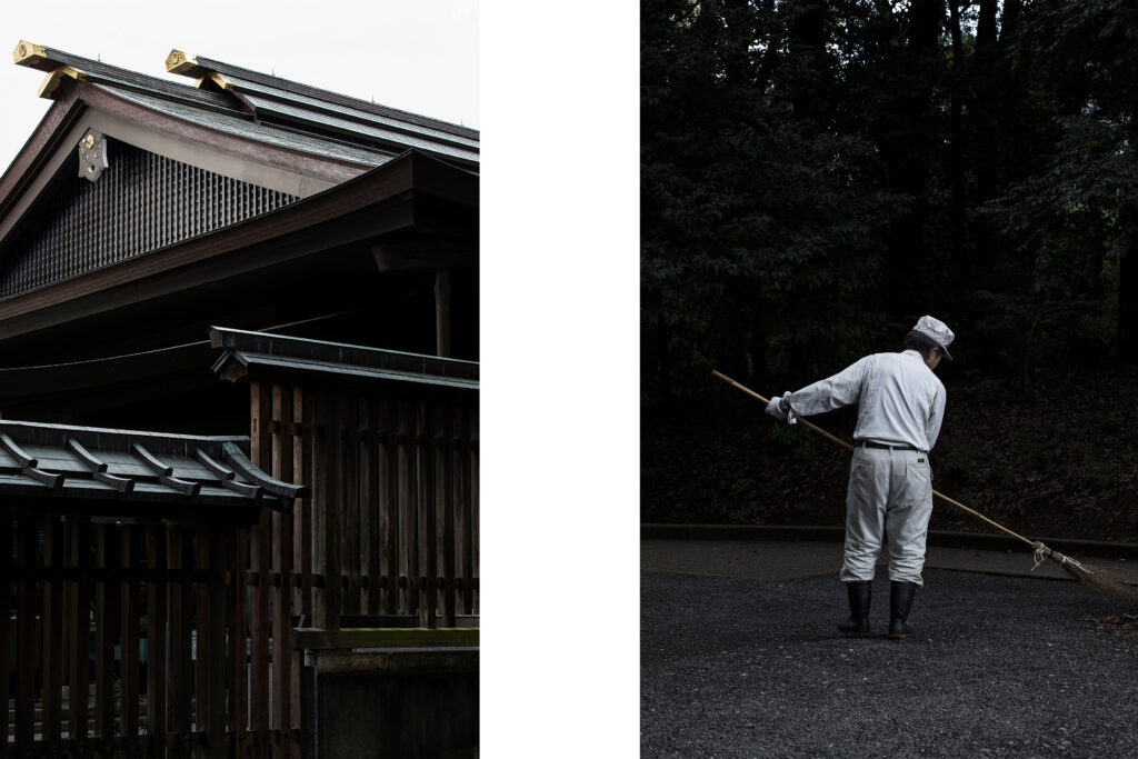 Meiji Jingu shrine, Tokyo, Japanese worker, Harajuku, Tokyo street photography