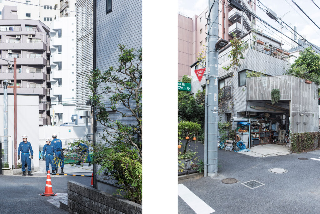Japanese workers, Tokyo streets, Aoyama, Tokyo street photography