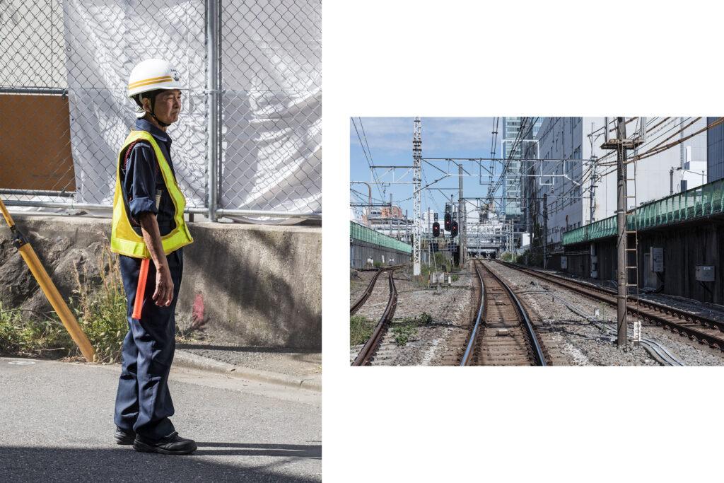 Tokyo streets, Japanese worker, Tokyo railways, Shinjuku, Tokyo street photography